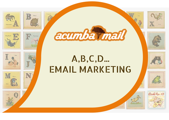 A, B, C, D... Email Marketing
