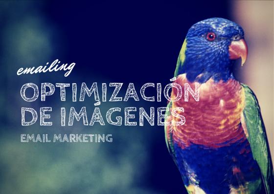 optimización de imagenes emailing