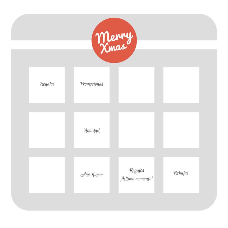 calendario de emails para navidad