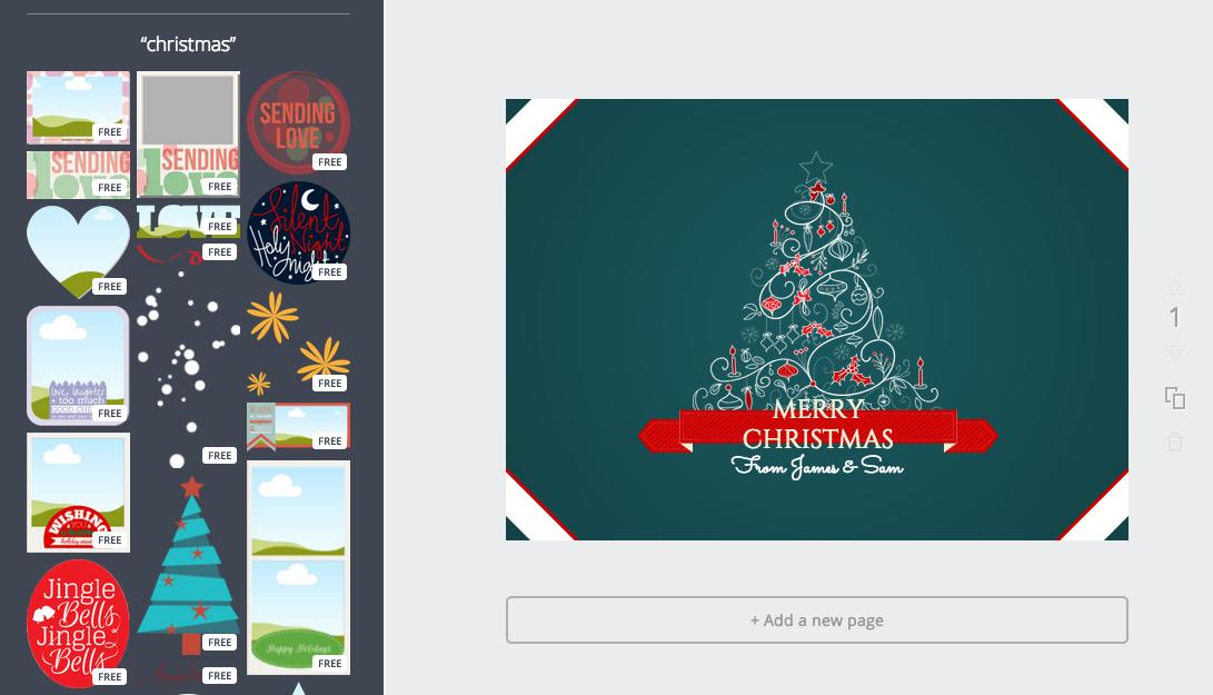 Herramientas para hacer tu felicitaci n de navidad online - Disenar tarjetas de navidad ...