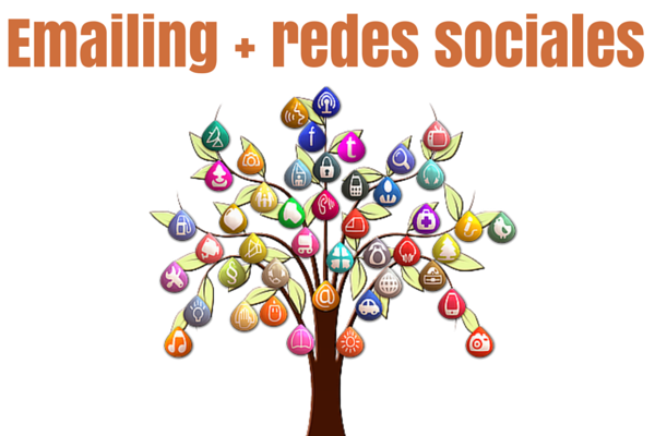 Email marketing + redes sociales