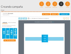 Crear campaña de email marketing