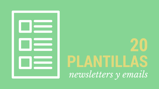 20 plantillas para newsletter gratis que puedes utilizar