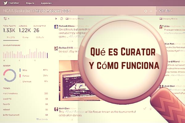 Qué es Curator by Twitter y cómo funciona