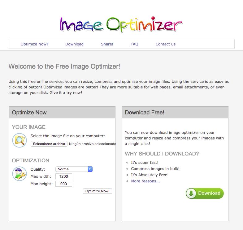Imagen Optimizer