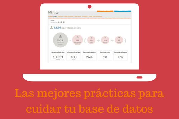 Las mejores prácticas para cuidar tu base de datos