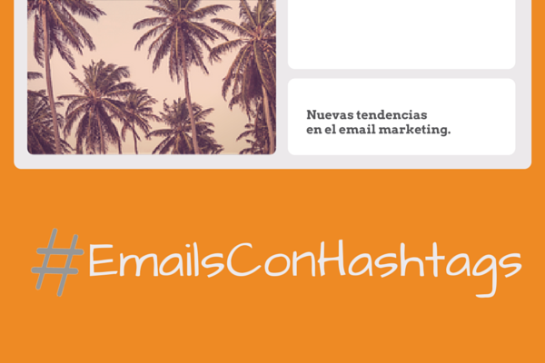 Emails con hashtags