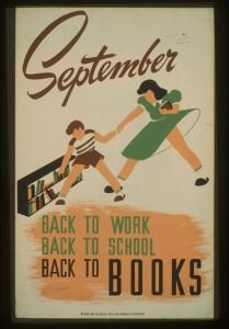Septiembre: regreso al trabajo, regreso a la escuela y regreso a los libros