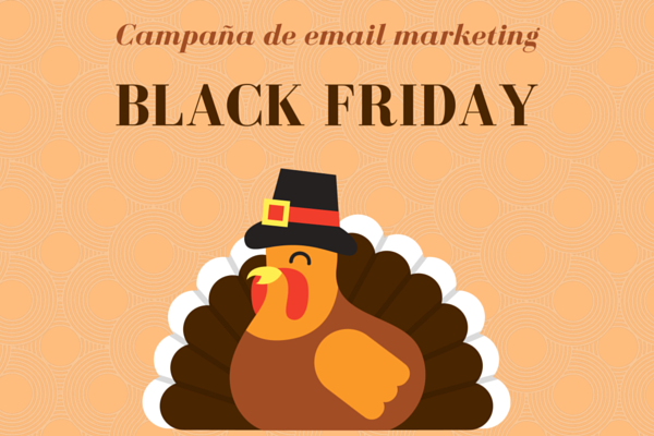 Campaña de email marketing para Black Friday