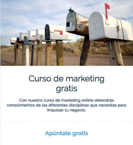 Apúntate en nuestro curso de marketing