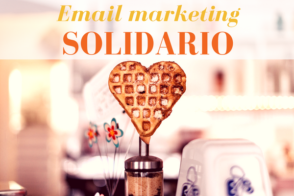 Email marketing solidario