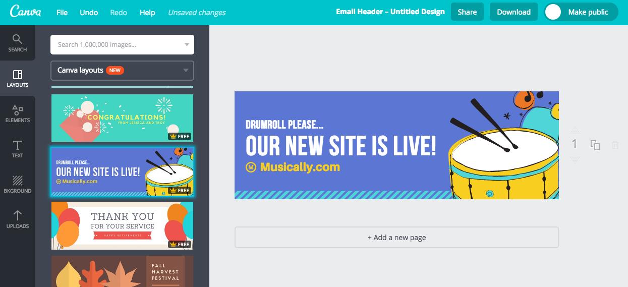 Mejorar imágenes de tus newsletters