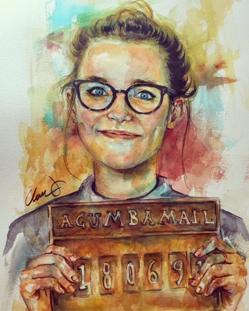 Retrato de María, por Clara Jiménez