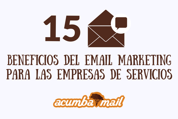 Email marketing para las empresas de servicios