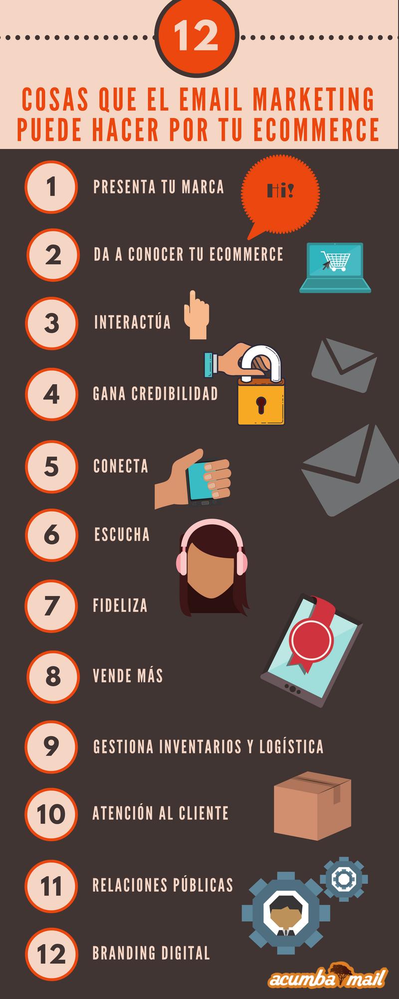 Cosas que el email marketing puede hacer por tu ecommerce