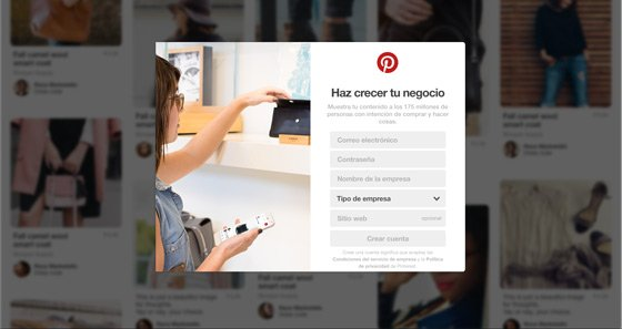 Cómo crear una cuenta de Pinterest para eCommerce