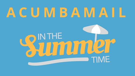 Un verano en la vida de Acumbamail, portada
