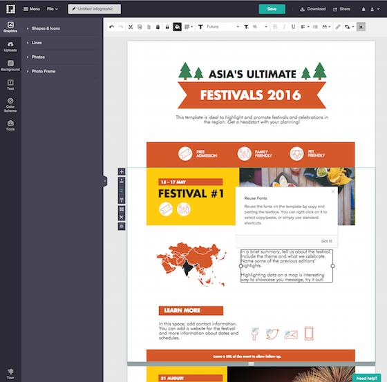 Cómo hacer infografías con Picktochart