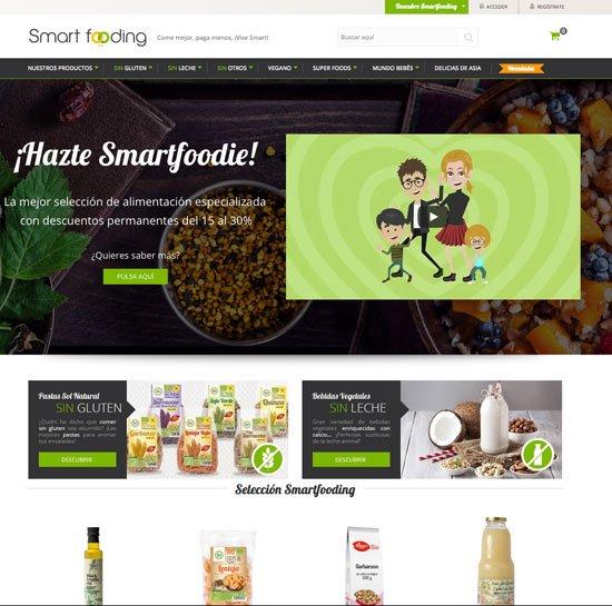 Nicho tiendas online de comida saludable