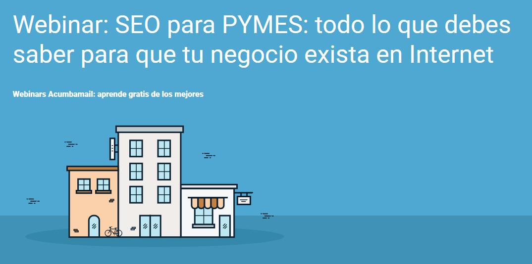 Portada webinar Jordi, SEO para PYMES
