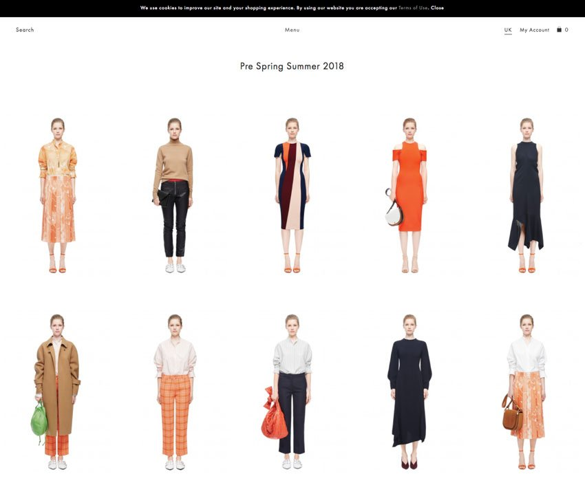 Tienda online de Victoria Beckham