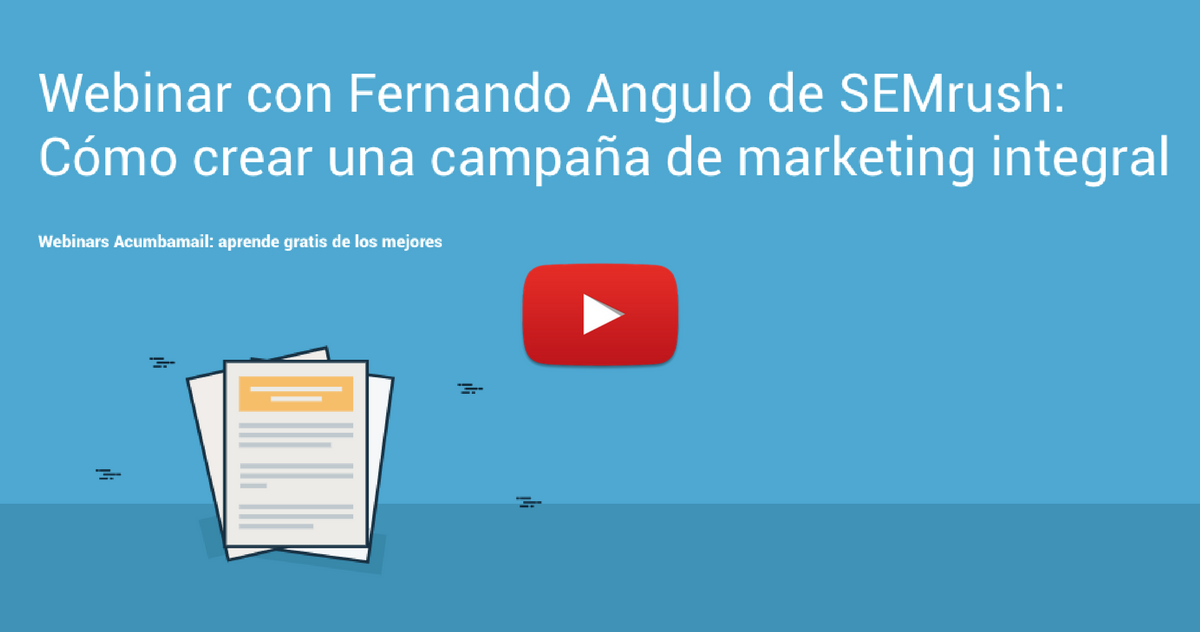 Webinar Semrush: post resumen