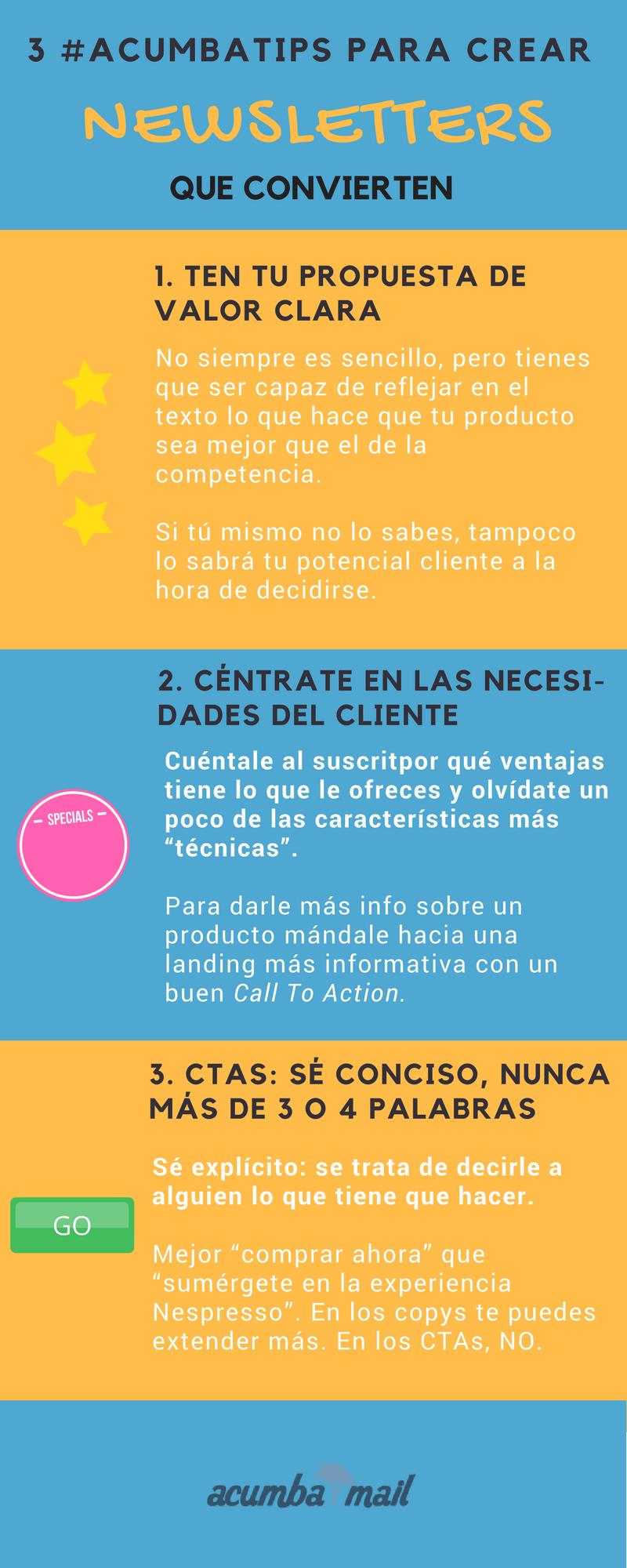 Infografía: Cómo crear newsletters que convierten (8)