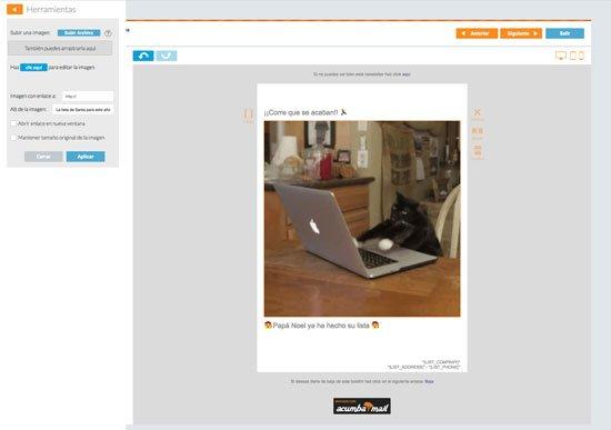 Gifs animados en email marketing