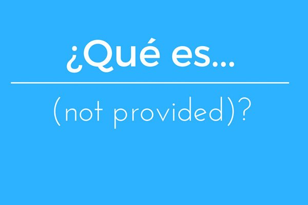 ¿Qué es not provided?