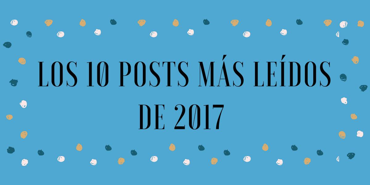 Portada post 10 posts más leídos de 2017