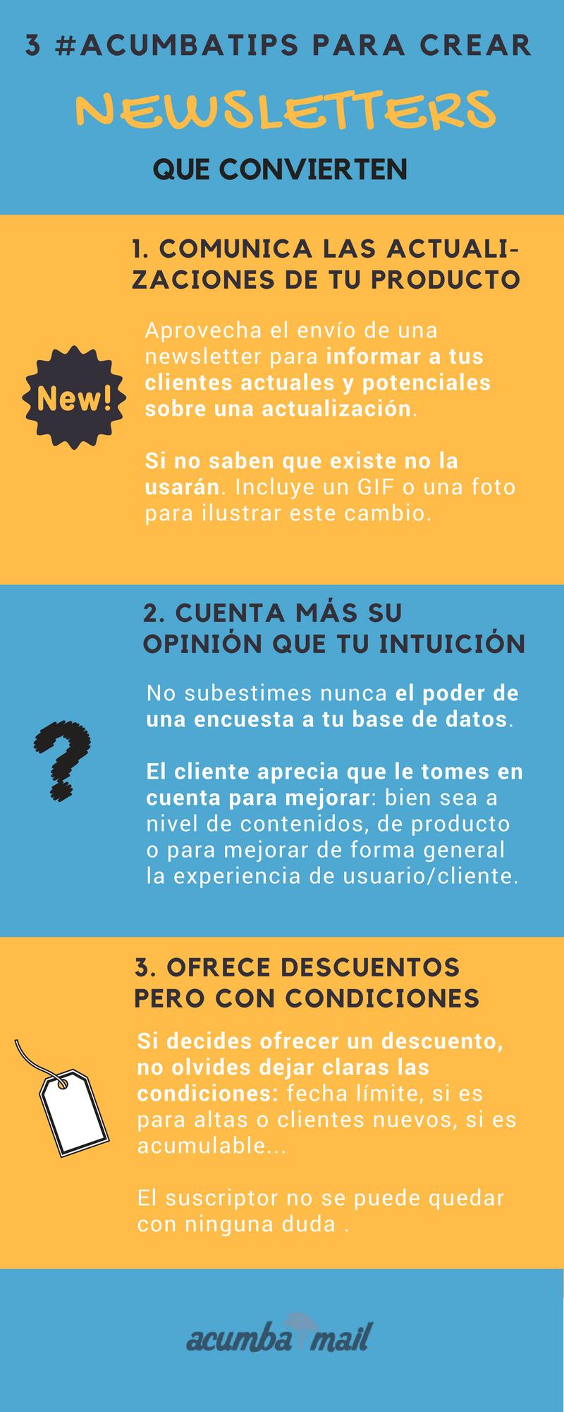Infografía: cómo crear newsletters que convierten (12)