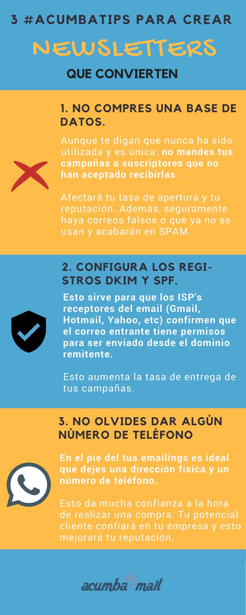 Infografía cómo crear newsletters que convierten (9)