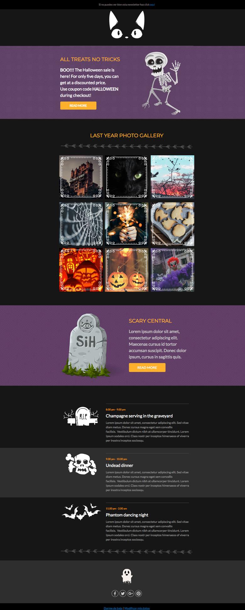 plantilla email halloween acumbamail 1
