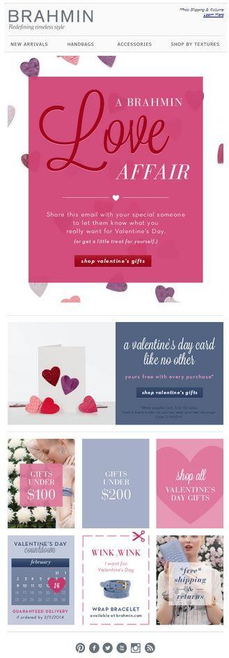 email marketing san valentin
