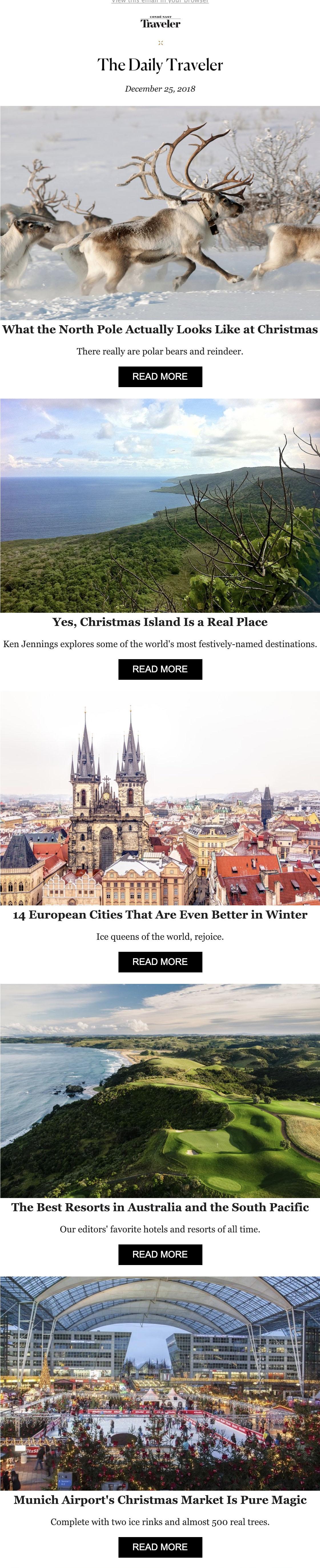 conde nast turismo