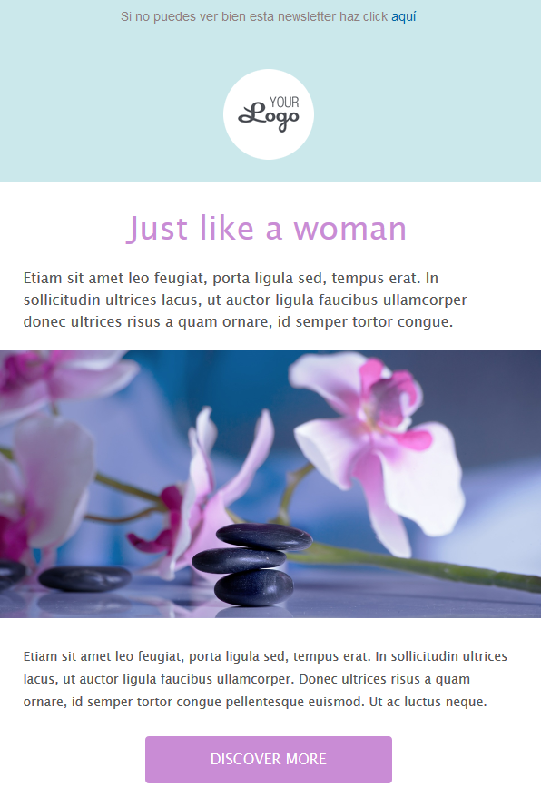 dia de la mujer calendario publicitario