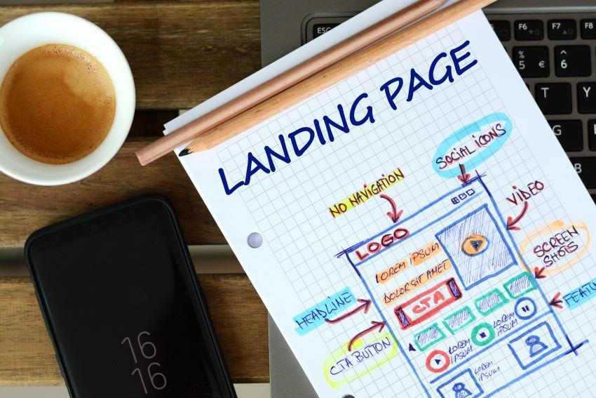landing page para email marketing