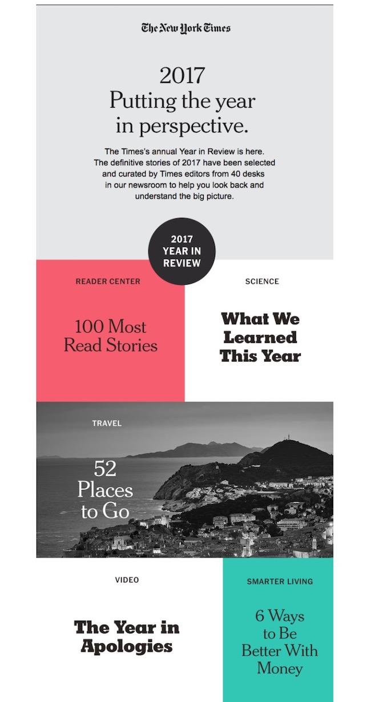 Ejemplos de campañas de email marketing 2020