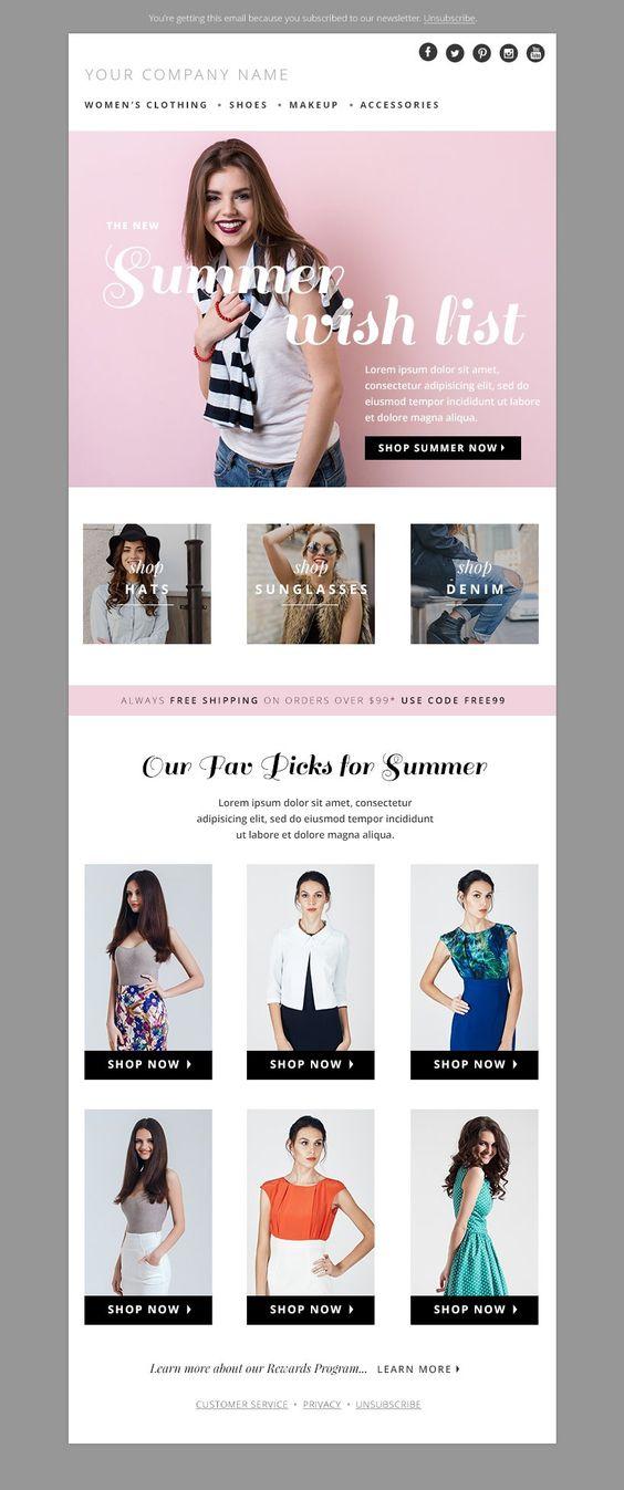plantilla marcas de moda