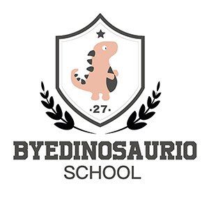 Byedinosaurio-school pequeño