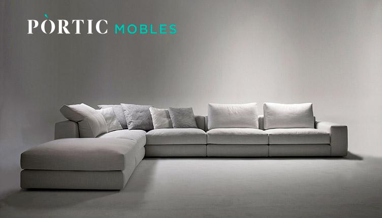 Logo Pòrtic Mobles