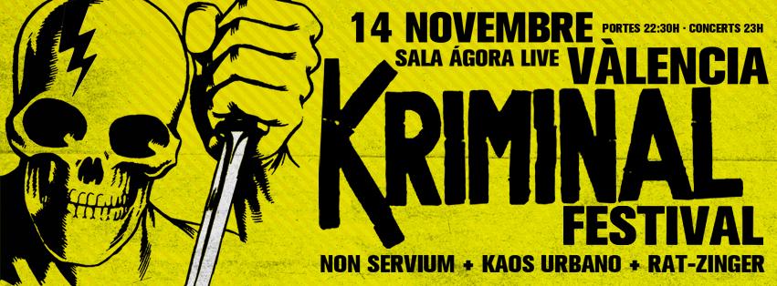 Kriminal Fest - Valencia