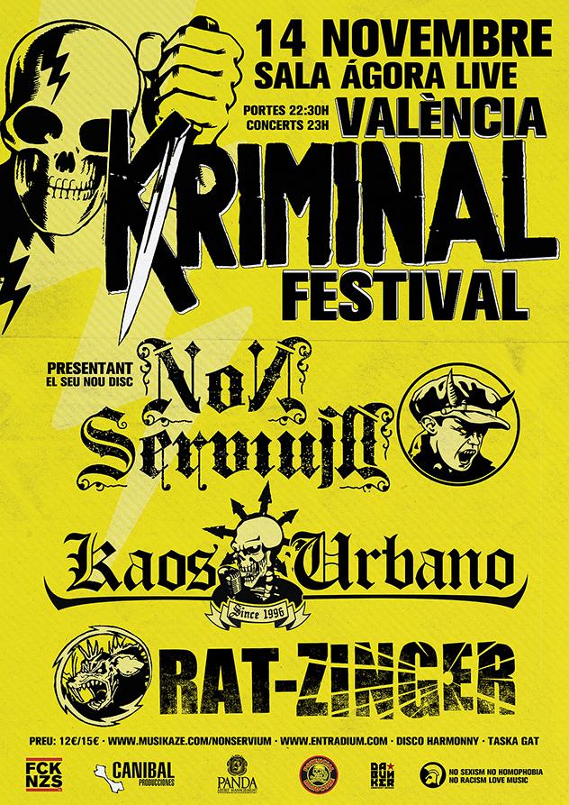 KRIMINAL FESTIVAL - VALENCIA