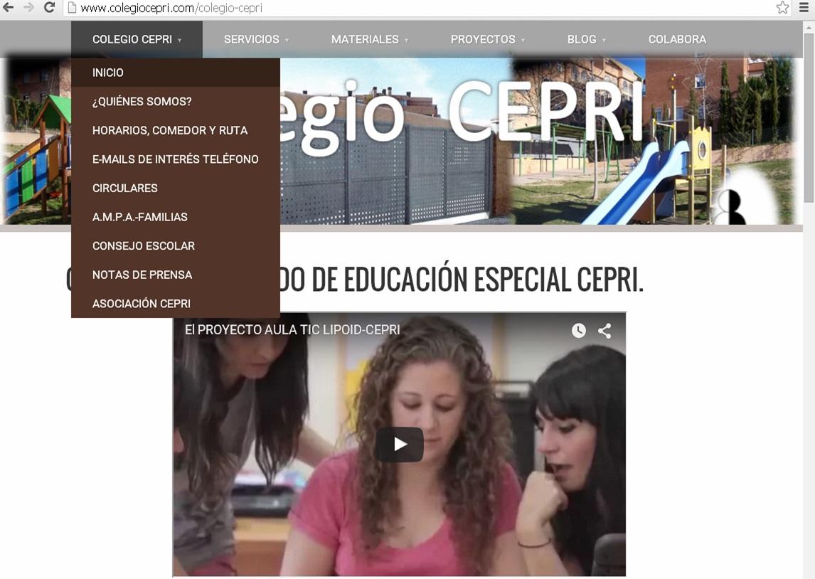 pagina web CEPRI