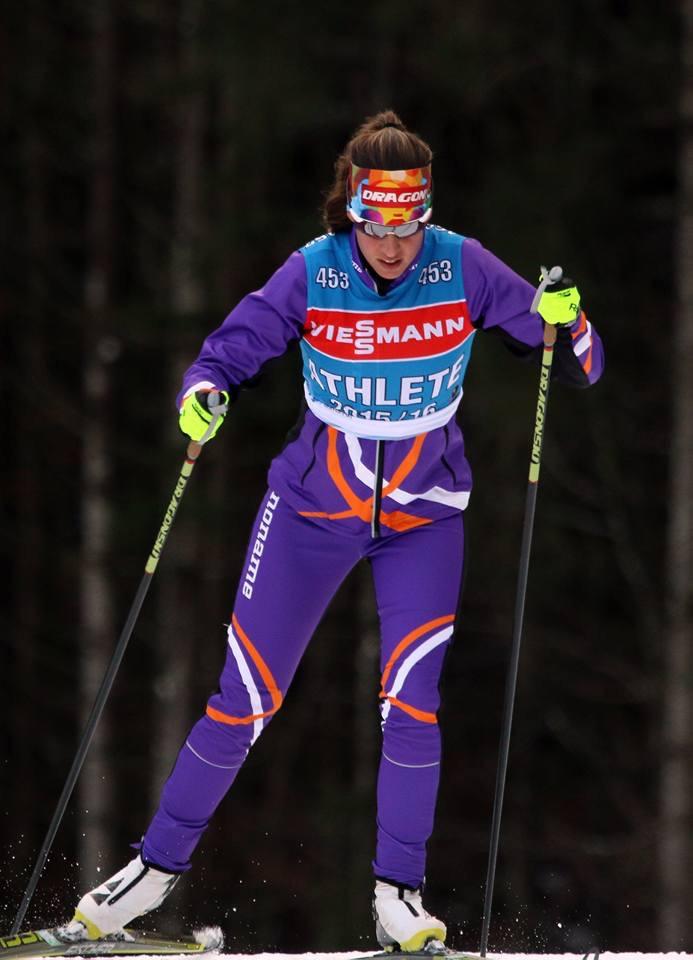 Victoria Padial: Biathleta Olímpica Española