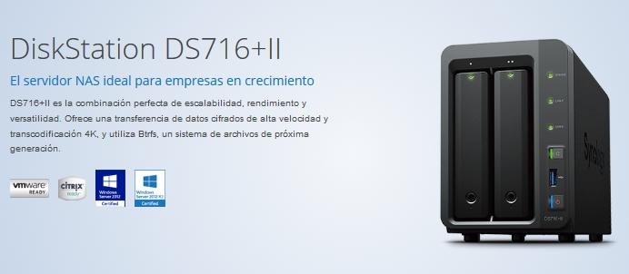 DS716+II