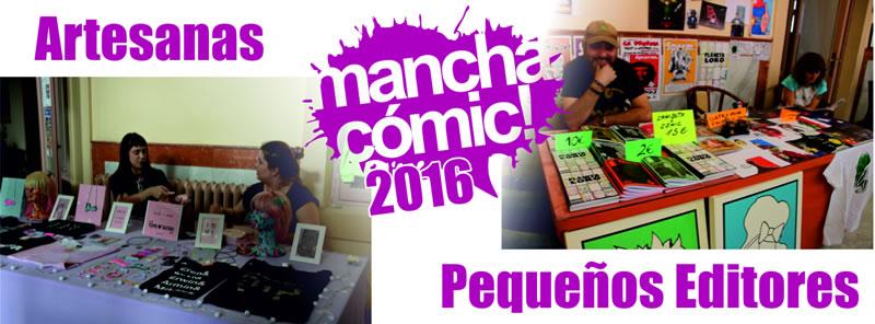 Artesanas y Pequeños Editores Manchacómic 2016