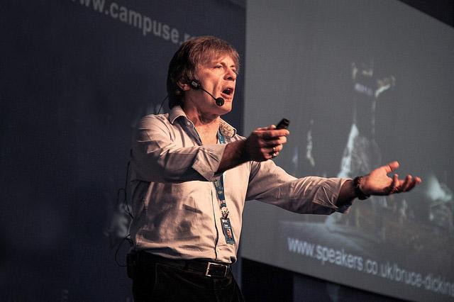 Bruce Dickinson en Campus Party