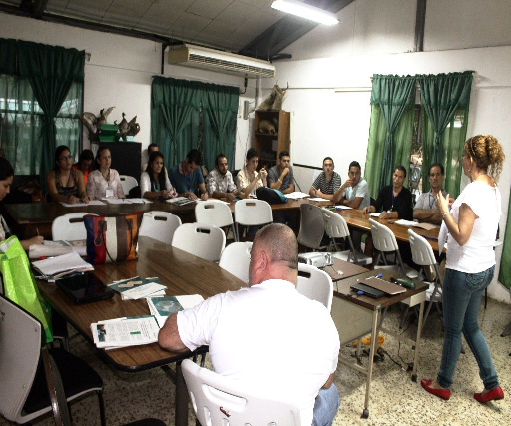 Capacitación de COVIRENAS en Costa Rica
