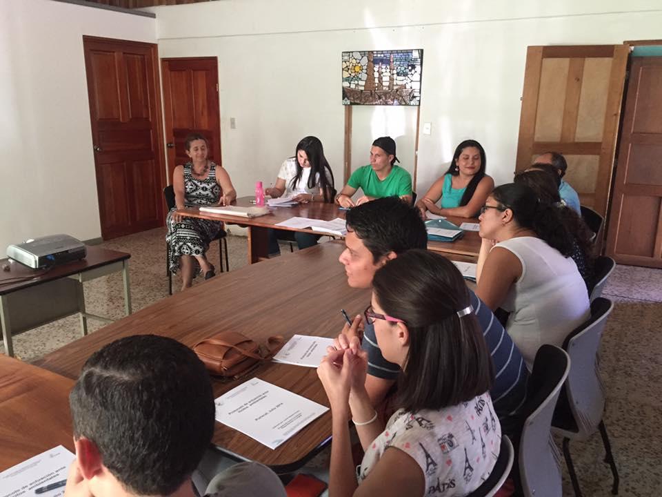 Capacitación de Sociedad Civil para conformación de COVIRENAS en el Área de Conservación Pacífico Central, Costa Rica